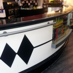Bar-restyling bancone