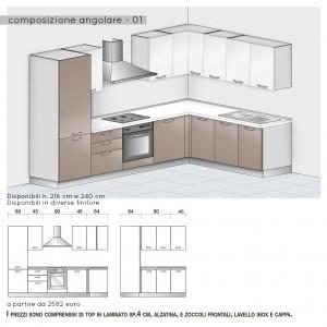Cucina angolare - modello base