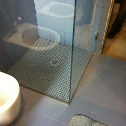 Box doccia - dettaglio piatto