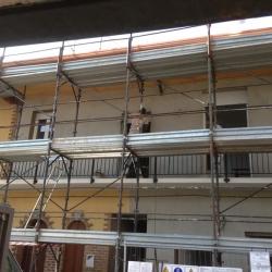 Rifacimento facciata - work in progress -1