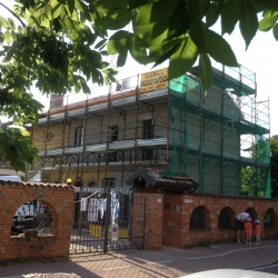 Rifacimento facciata - work in progress - 2